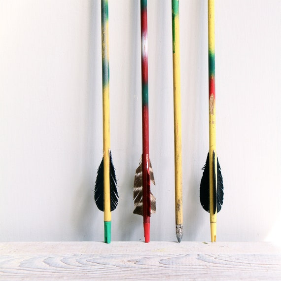 NEW COLORS //  Vintage Wooden Arrow