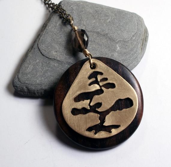 Bonsai Necklace - Zen Jewelry