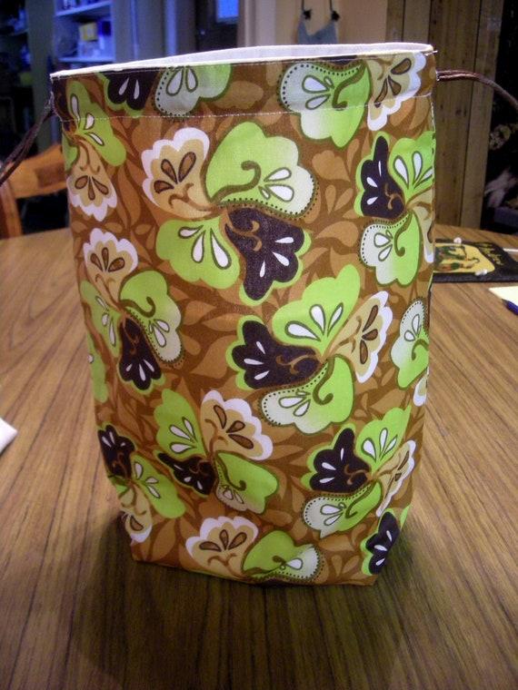 Knitting Project Bag KIP bag, Medium size bag   B  -   108