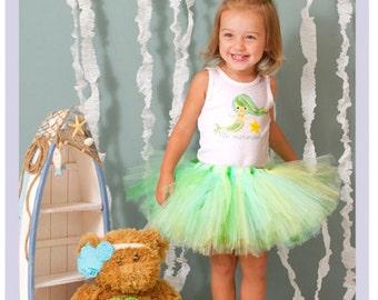 Little Mermaid Tutu Dress Baby Tutu Outfits Toddler Mermaid Costume 9 12 18 Months