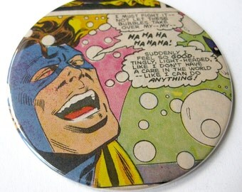Nomad Coasters // Recycled Comic // Set of 4