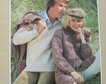 Vintage Beehive That Natural Look Knitting Pattern Book