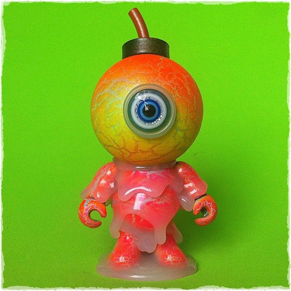 Glow in the Dark Custom Jamungo BUD Melt Monster