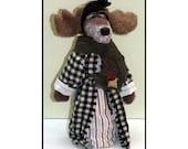 GrandPa Moose Handmade Woodland Moose Doll