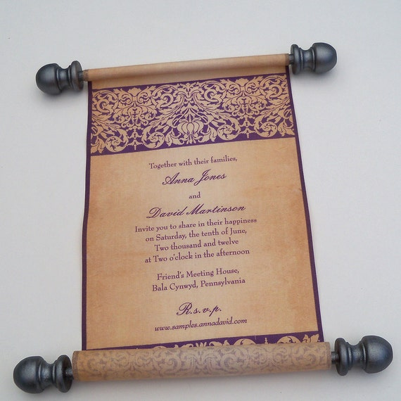 Medieval Wedding Invitations: 301 Moved Permanently