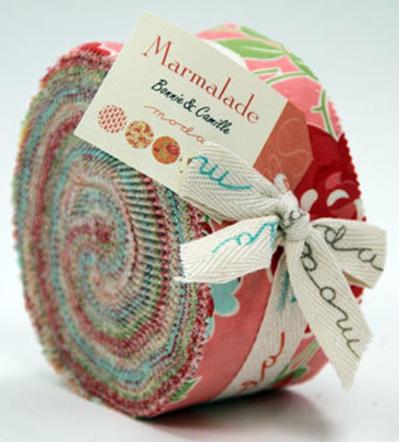 Jelly Roll--Marmalade by Bonnie and Camille for Moda Fabrics