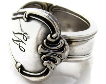 Spoon Ring 3 4 5 6 7 8 9 10 11 12 13 14 15 Signature With W Monogram