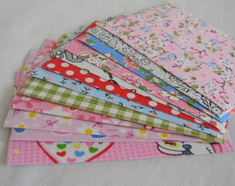 Fabric sticker sheets assorted designs