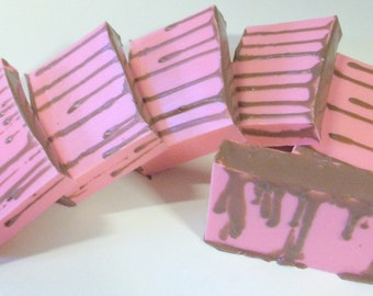 Chocolate Covered Cherry Soap - Goats Milk