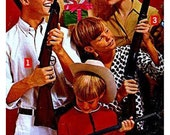 Family - Retro Collage Greeting Card