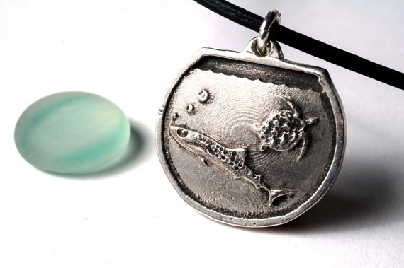 Whale Shark Necklace Sterling Silver Shark Week Toyquarium Kickstarter Project