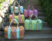 Bridesmaid Gift Set of 5 Custom Travel Duffels