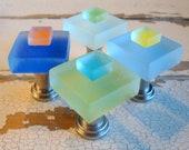 Beach Home Decor Small Glass Cabinet Knob