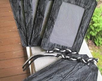 On Sale/Luggage tags/ Black camo/retired fabric