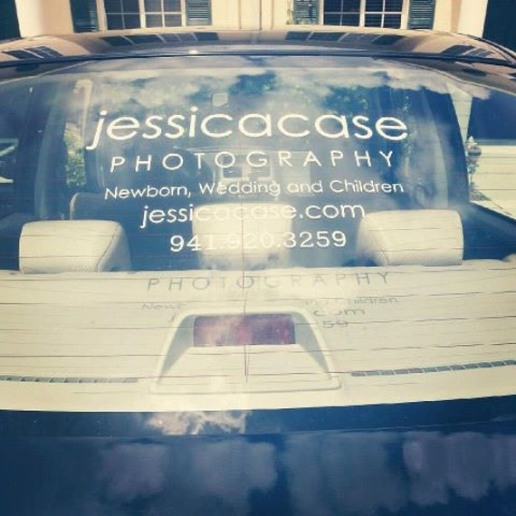 Custom Vinyl Car Decal Business Decals Vehicle Window - Promotional custom vinyl stickers business