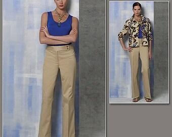 Vogue 1167 Anne Klein Jacket, Top, Pants Pattern Size 16-22
