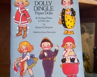 Vintage  Adventures of Dolly Dingle Uncut Paper Dolls