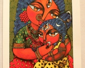 Maa Annapurna (Hindu Goddess of Nourishment) PRINT