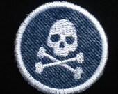 Poison Iron-on Patch / Merit Badge