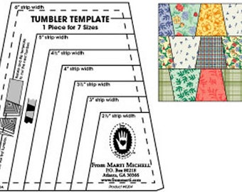 Tumbler Template Ruler from Marti Michell (8204)