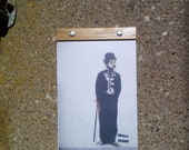 Charlie Chaplin - Upcycled Journal