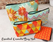 Complete Essential Cosmetic Bag Set - Carnival Ride