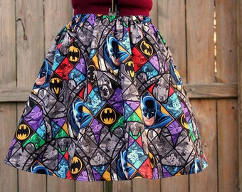 Aline Batman Skirt, Geekery, Geek Clothing, Womens Skirts, Womens Mini Skirts, Batman Clothing