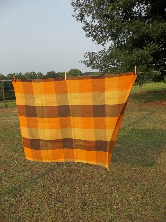 Vintage Tablecloth Farmhouse Kitchen Rustic Fall By Misshettie