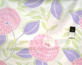 Dena Designs DF79 McKenzie Blooms Lilac Cotton Fabric 1 Yard