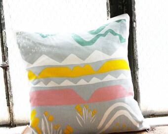 Landscape Pillow Cover 16 x 16