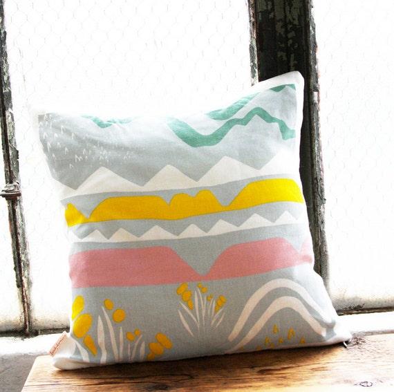 landscape pillow cover 16 x 16. Black Bedroom Furniture Sets. Home Design Ideas
