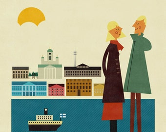 Helsinki big print