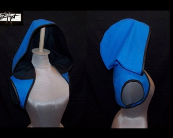 Any Color - Hoodie Bolero Shrug by LoriAnn Costume Designs - Choose Color and Size  xs s m l xl 2x 3x