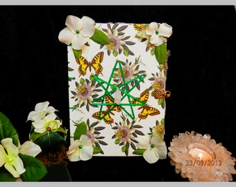 FAIRY Butterfly Glamerie HANDMADE Spell Book of Secrets