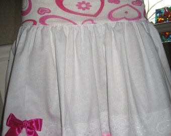 sequoia NEW White,Pink,Hearts,Lace Lolita,Punk,Goth,Rock,Festival Skirt,Top Set - All sizes