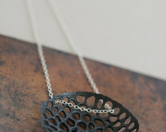 Apair Necklace - Small - Sterling Silver