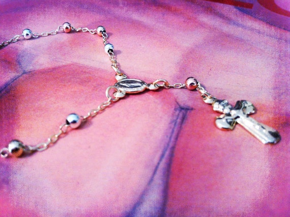Tri Gold Rosary bracelet delightful and elegant treasures