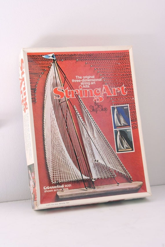 NOS Vintage three-dimensional string art by ShipShop