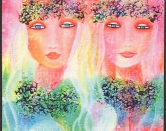 Love and Aloha, Fabric Panel