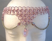 Princess Pink Chainmaille Costume Circlet