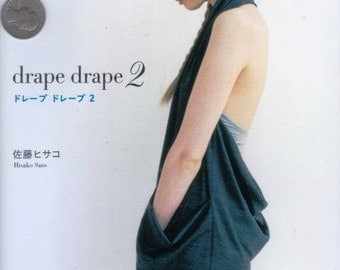 Japanese Craft Book Drape Drape Number 2 Hisako Sato Cloth Tunic