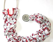 Stethoscope Cover Hello Kitty White Pink and Red