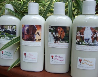 Goat Milk Conditioner ~ All natural Creamy Goat Milk Conditioner