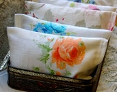 Dryer Sachets: Organic Laundry -- Vintage Fabric
