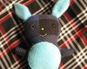 Little Bunny Buddy - Hand sewn plush SALE