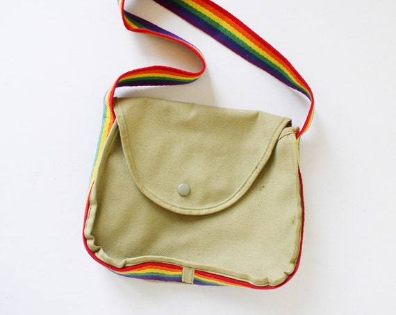 Rainbow handbag, purse