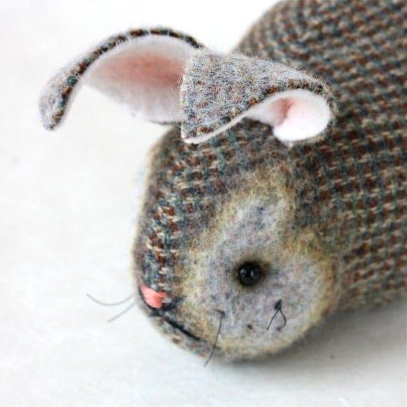 Plush Bunny Rabbit - Seagrass Bunny