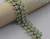 Pacific Lace Swarovski and SuperDuo Bracelet tutorial Pdf for personal use only