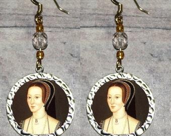 Tudor Queen ANNE BOLEYN Earrings