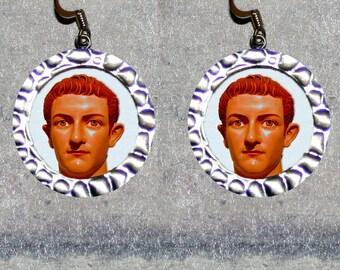 Roman Emperor CALIGULIA Earrings